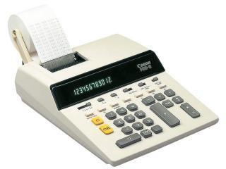 Rekenmachines met telrol