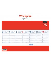 Weekplanagenda 2018 quantore