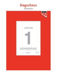 Dagscheurkalender 2018 quantore 12x17cm